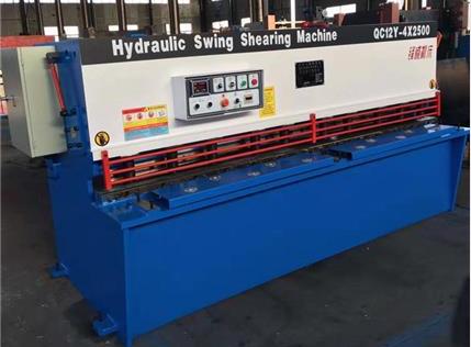 QC12Y-4X2500液压剪板机
